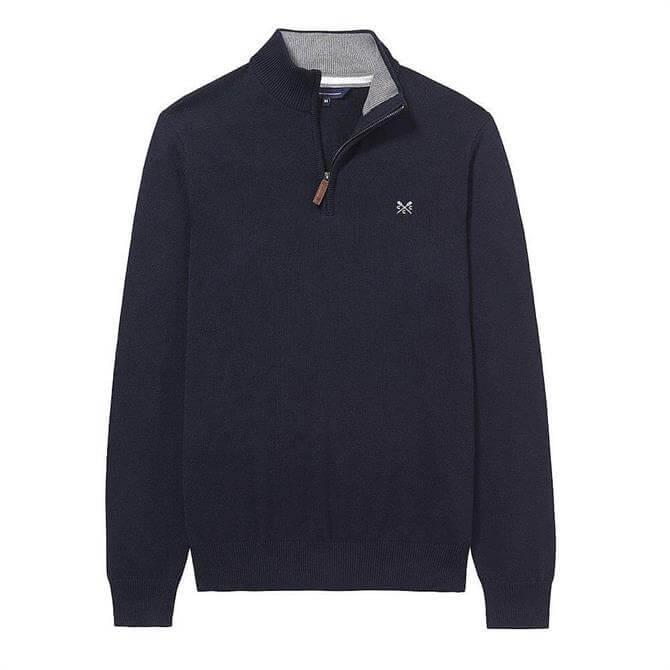 Crew Clothing Classic 1/2 Zip Knit