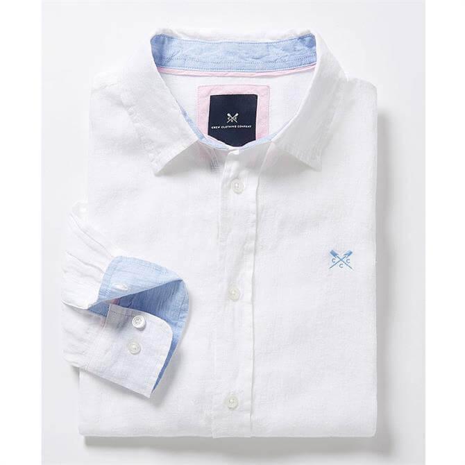 Crew Clothing Classic Fit Linen Shirt