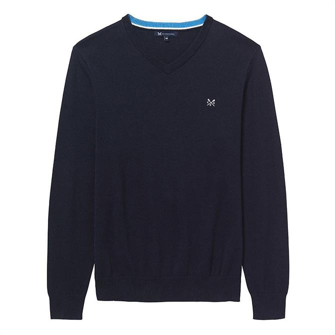 Crew Clothing Foxley V Neck Jumper