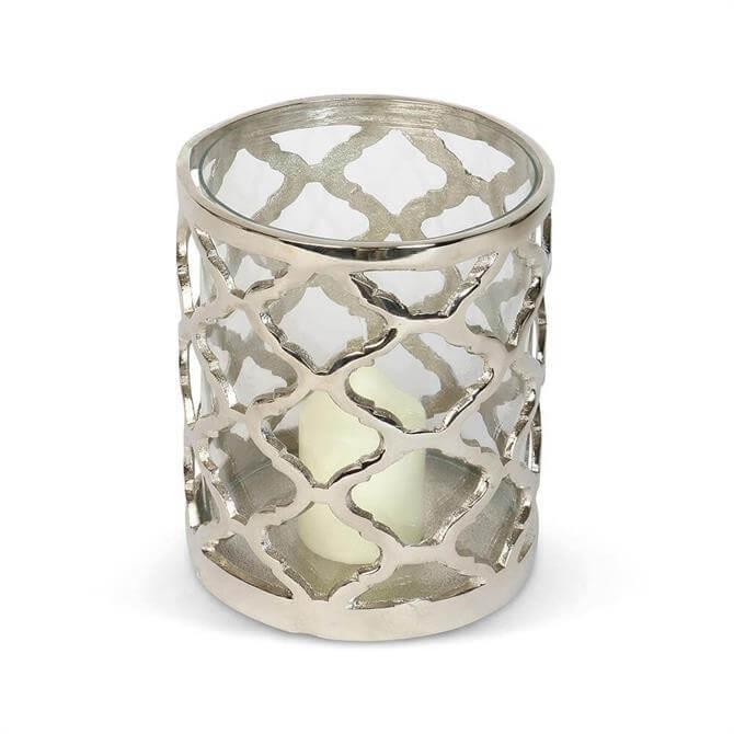 Culinary Concepts Regency Lattice Hurricane Candle Holder