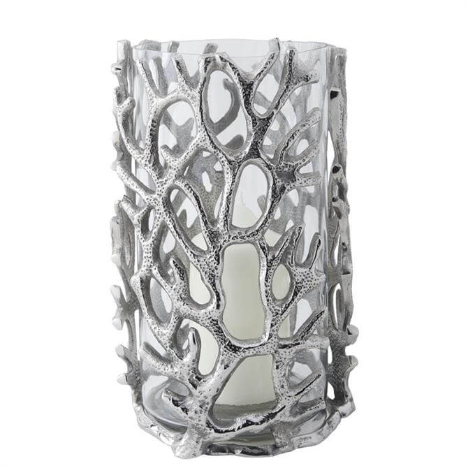 Culinary Concepts Large Coral Hurricane Lantern