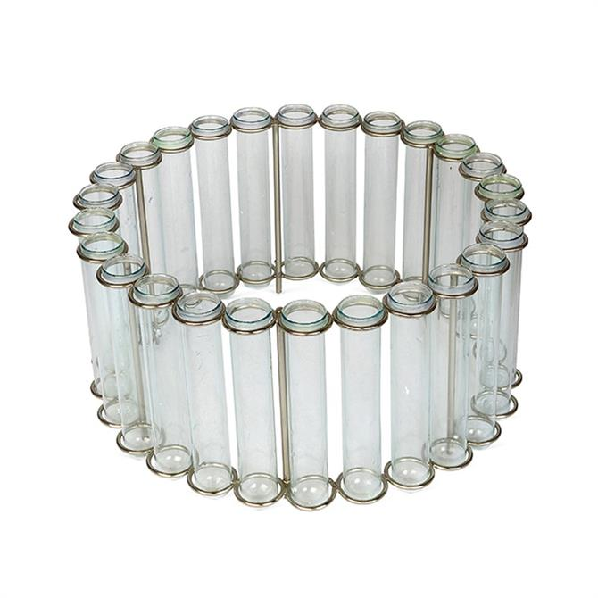 Culinary Concepts Circular Test Tube Table Vase