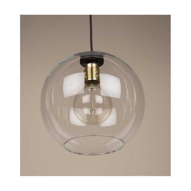 Culinary Concepts Globe Glass Pendant Light