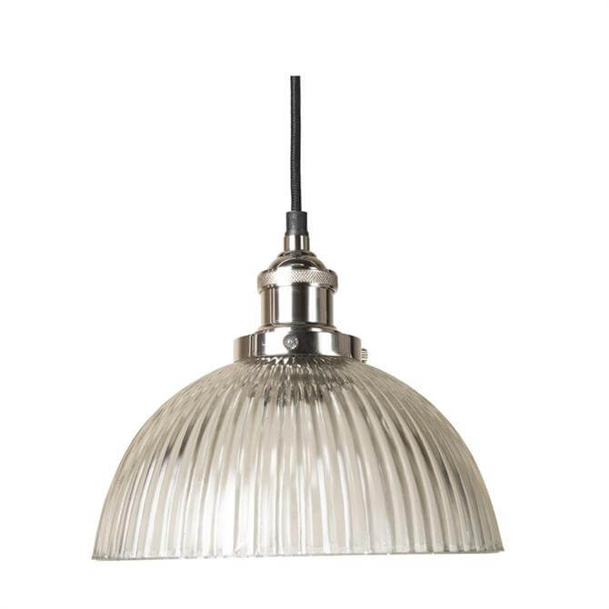 Culinary Concepts Polished Nickel Pendant Light