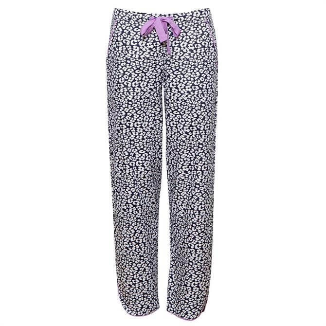 Cyberjammies Laura Woven Animal Print Pyjama Trousers