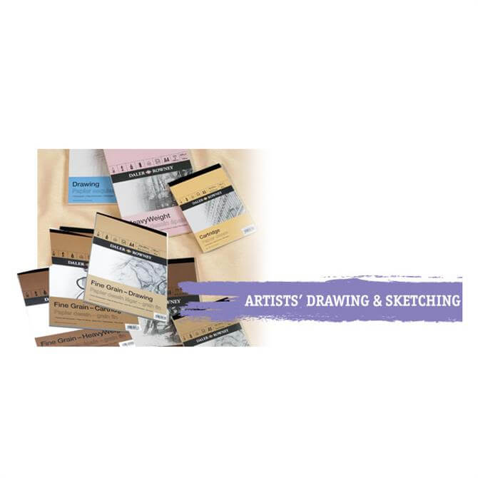 Daler Rowney A Series Drawing Pad A3, A4 and A5