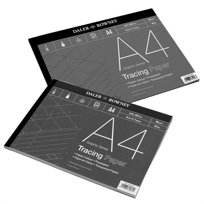 Daler Rowney Graphic Series Tracing Pad 60g