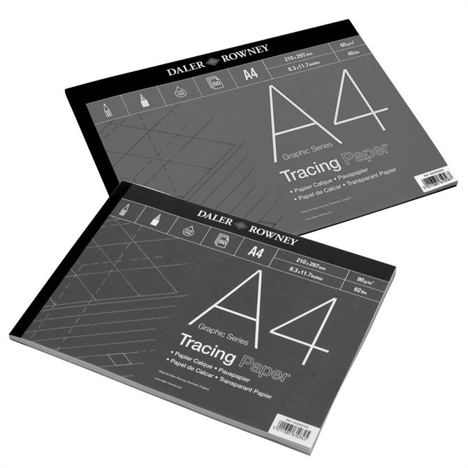 Daler Rowney Graphic Series Tracing Pad 90g