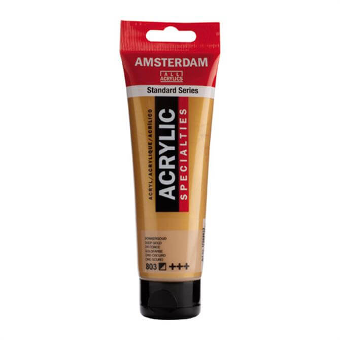Royal Talens Amsterdam Acrylic Metallic Paint Tube- 120ml