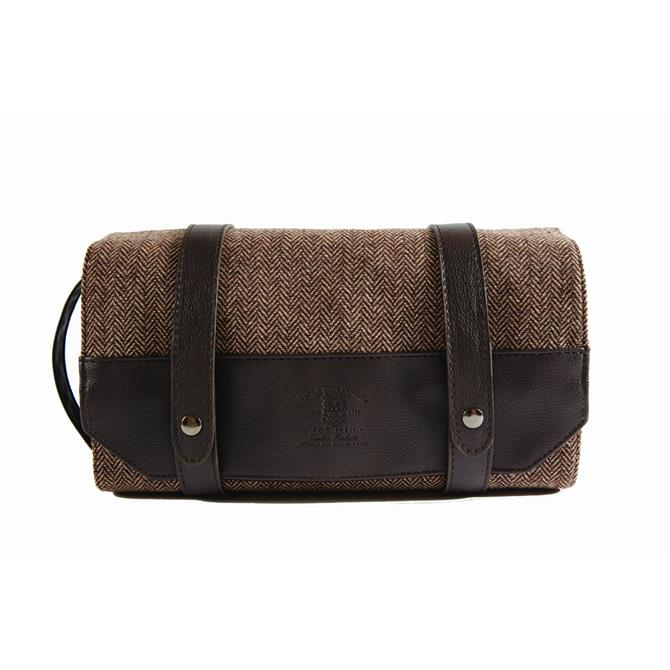 Danielle Bromton & Langley Men's Roll Out Wash Bag