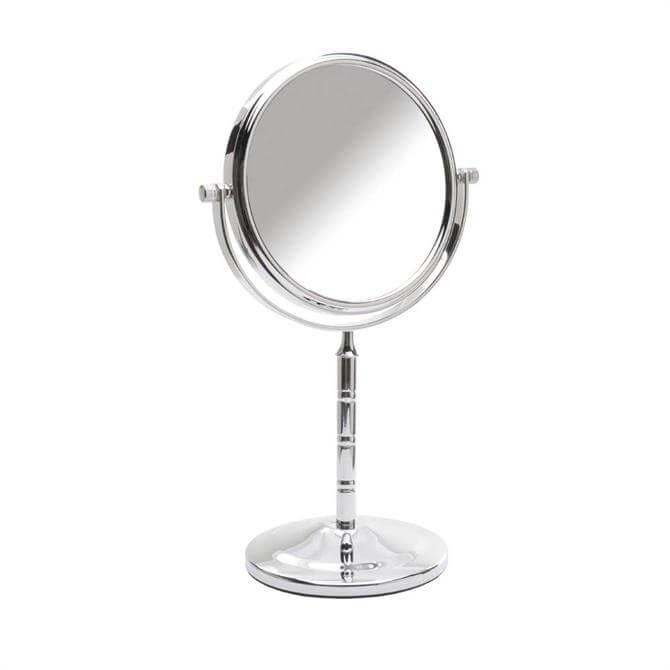Danielle Ribbed Pedestal Mirror