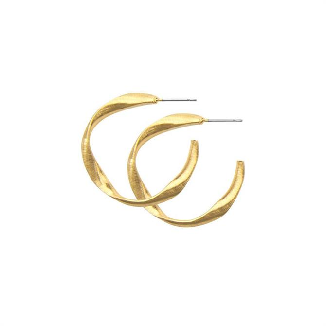 Dansk Smykkekunst Tara Curly Earrings