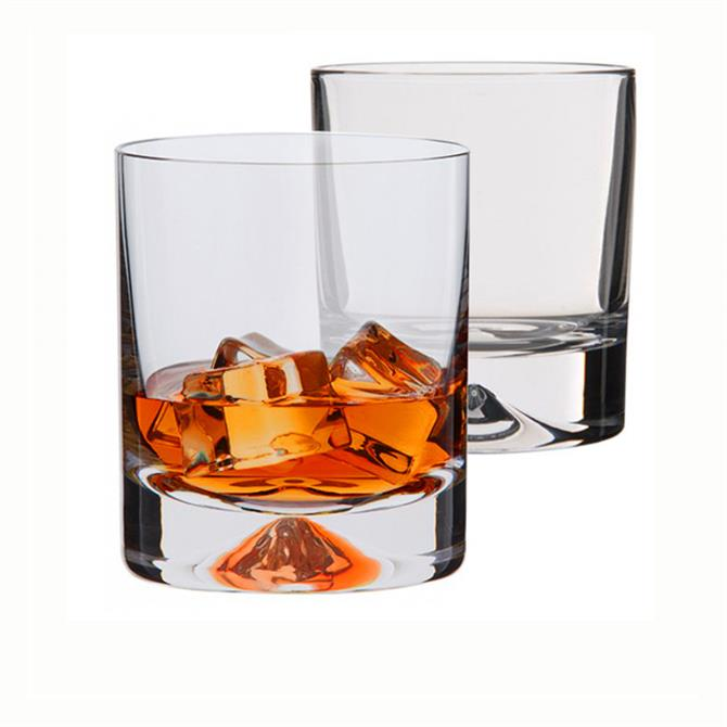 Dartington Dimple Set of 2 Whisky Glasses
