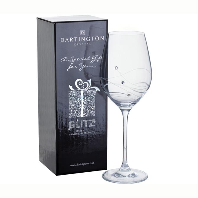 Dartington Glitz Single Wine Gift Box