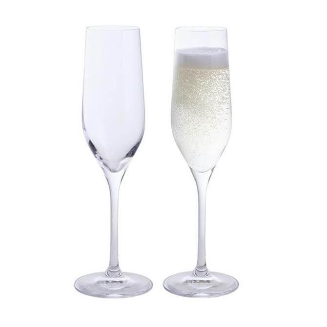 Dartington Wine & Bar Pair of Champagne Flutes