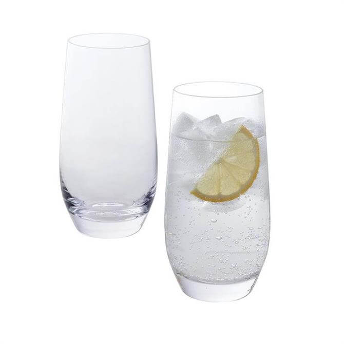 Dartington Wine & Bar Pair of Highball Glasses
