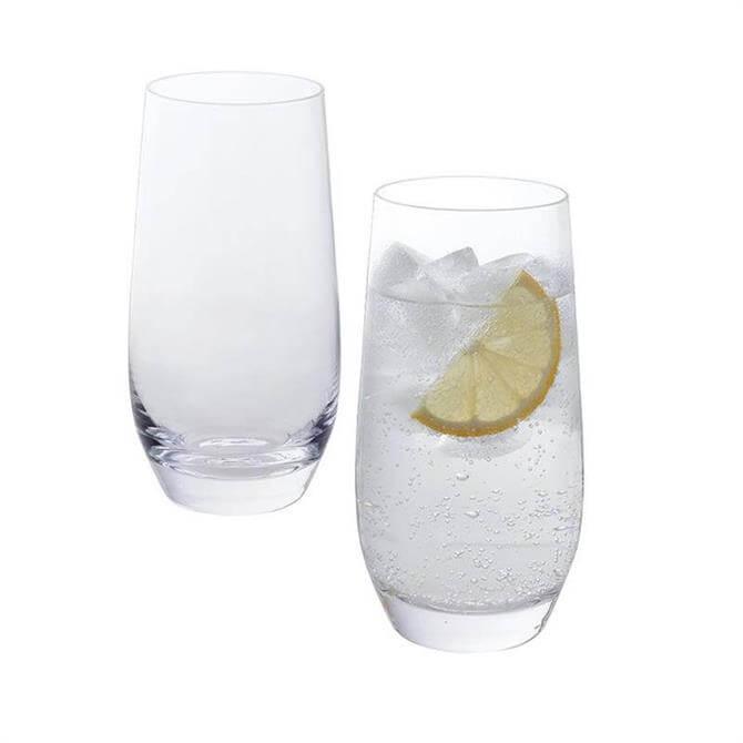 Dartington Wine & Bar Pair of Highball Glasses