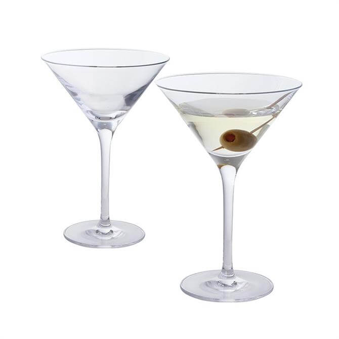 Dartington Wine & Bar Pair of Martini Glasses