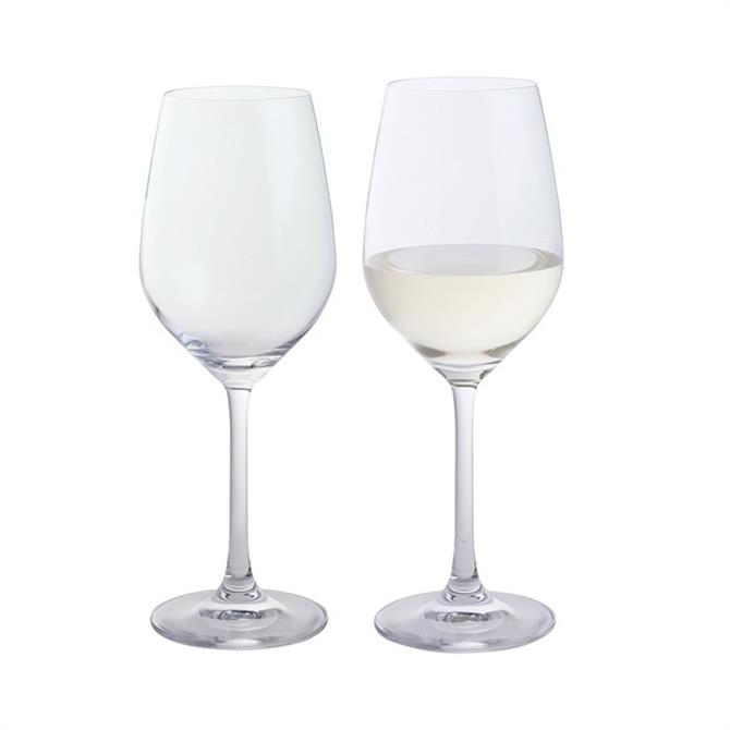 Dartington Wine & Bar Pair of White Wine Glasses