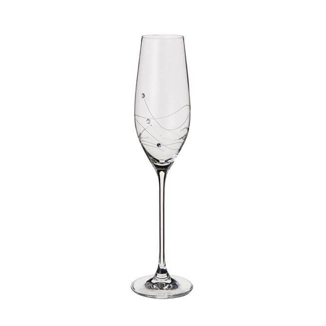 Dartington Glitz Single Champagne Flute