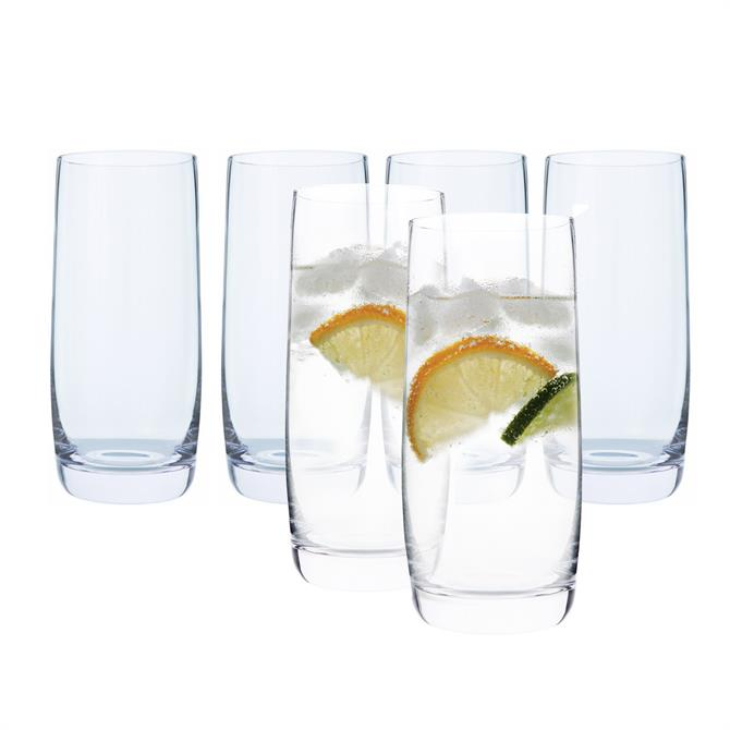 Dartington Drinks Collection Highball Glasses: Set Of 6