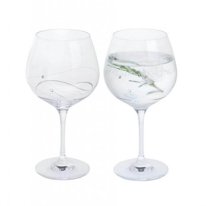 Dartington Glitz Copa Gin & Tonic Glases: Set Of 2