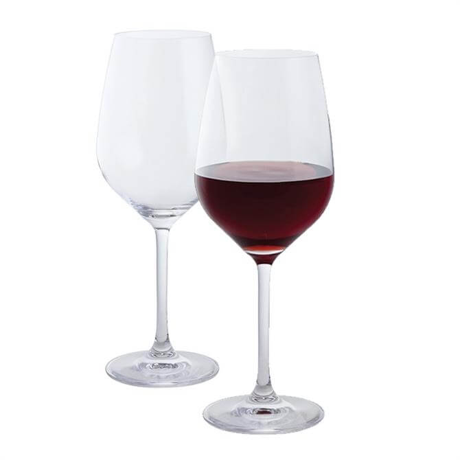 Dartington Wine & Bar Set Of 2 Red Wine Glasses