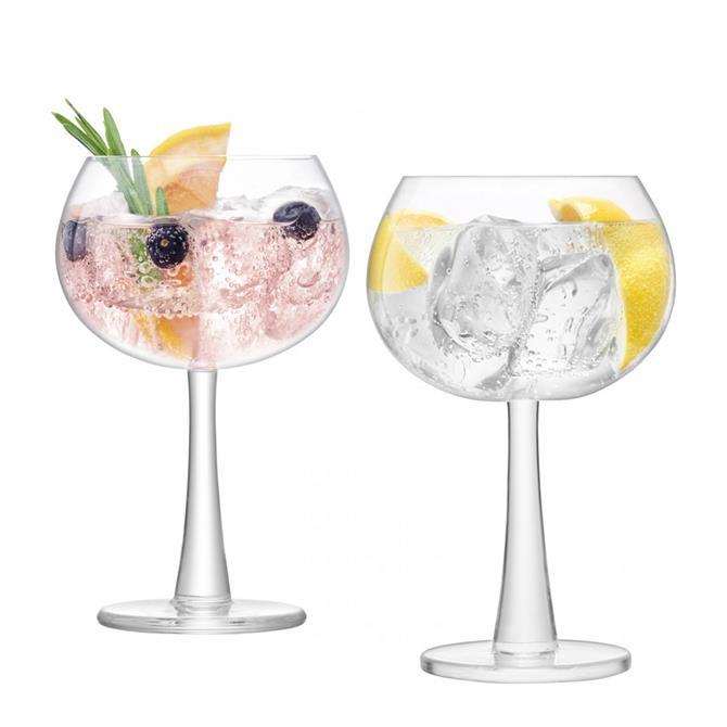 LSA Gin Balloon Glasses: Set Of 2
