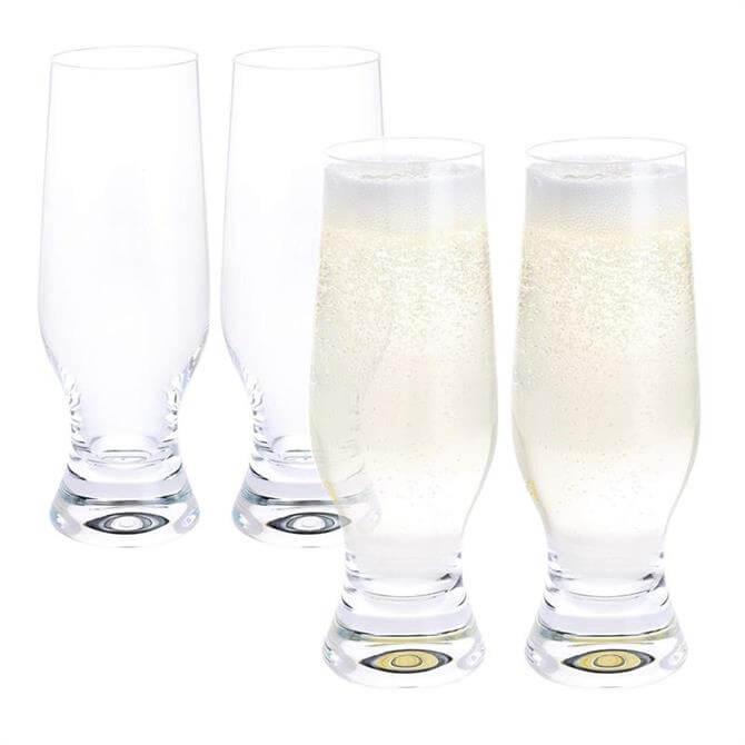 Dartington Home Bar Tall Fizz Glass: Set Of 4