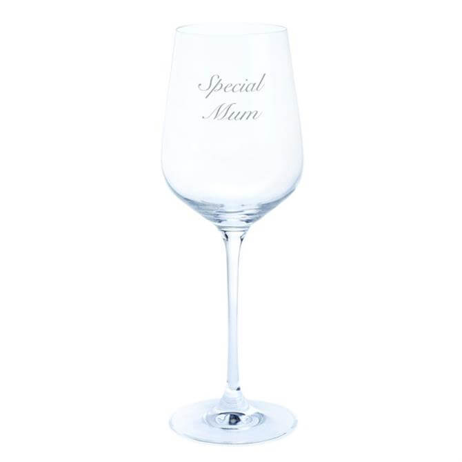 Dartington Special Mum Wineglass