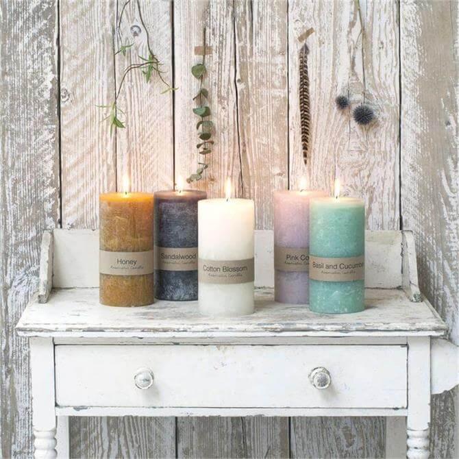 Dassie Pillar Candle 20 x 10cm