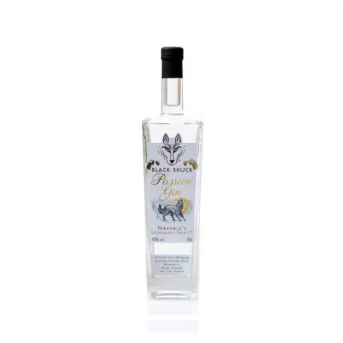 Black Shuck Passion Gin: 35cl