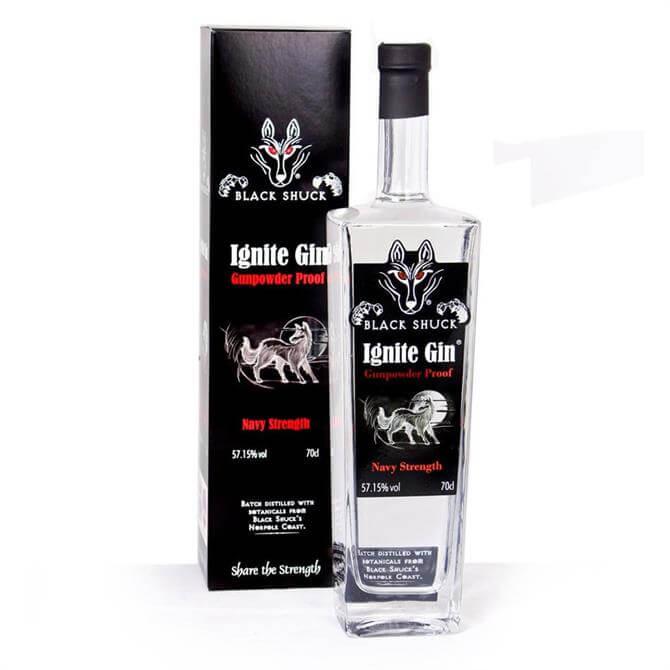 Black Shuck Ignite Gin 70cl