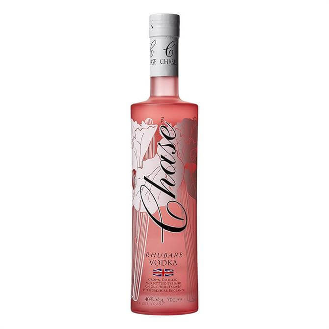Chase Rhubarb Vodka: 70cl