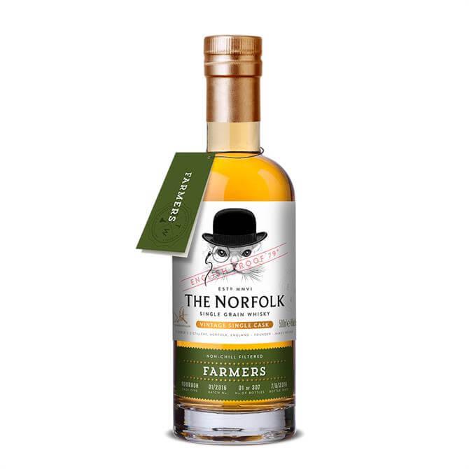 The Norfolk Farmers Single Grain Whisky: 50cl