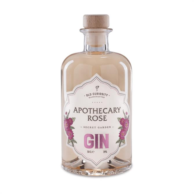 Old Curiosity Apothecary Rose Gin: 50cl