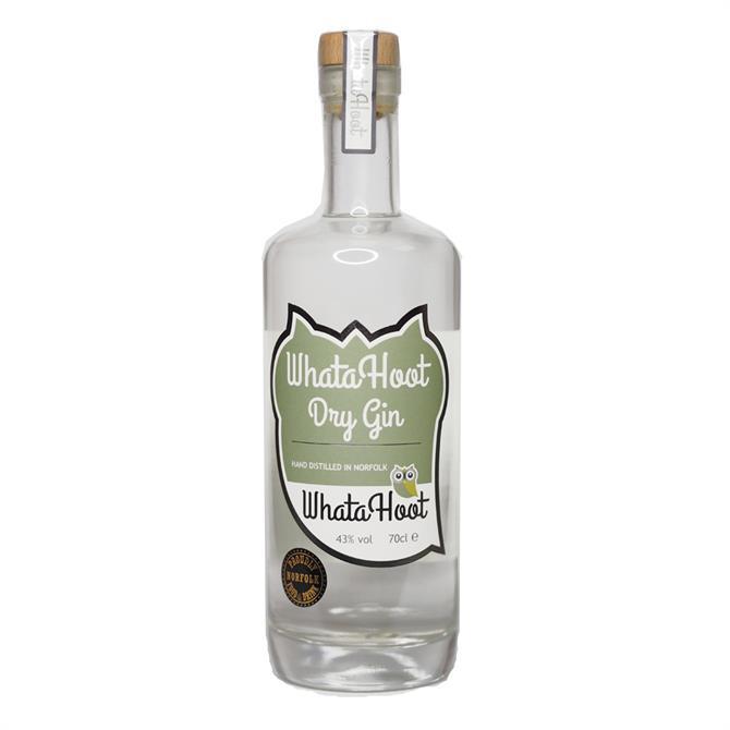 WhataHoot Dry Gin: 70cl