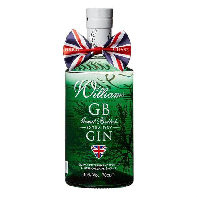Williams GB Extra Dry Gin: 70cl