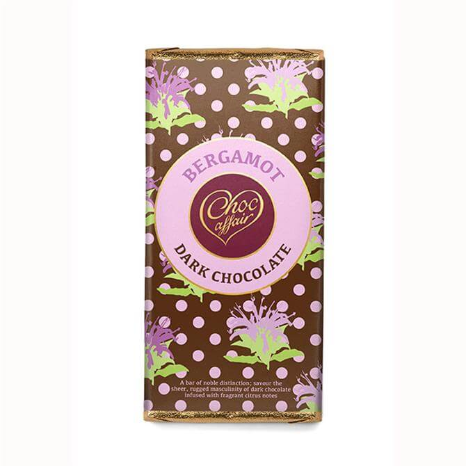 Choc Affair Bergamot Dark Chocolate Bars 90g