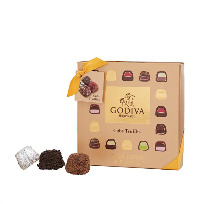 Godiva Chocolates Cube Truffles: Box of 9