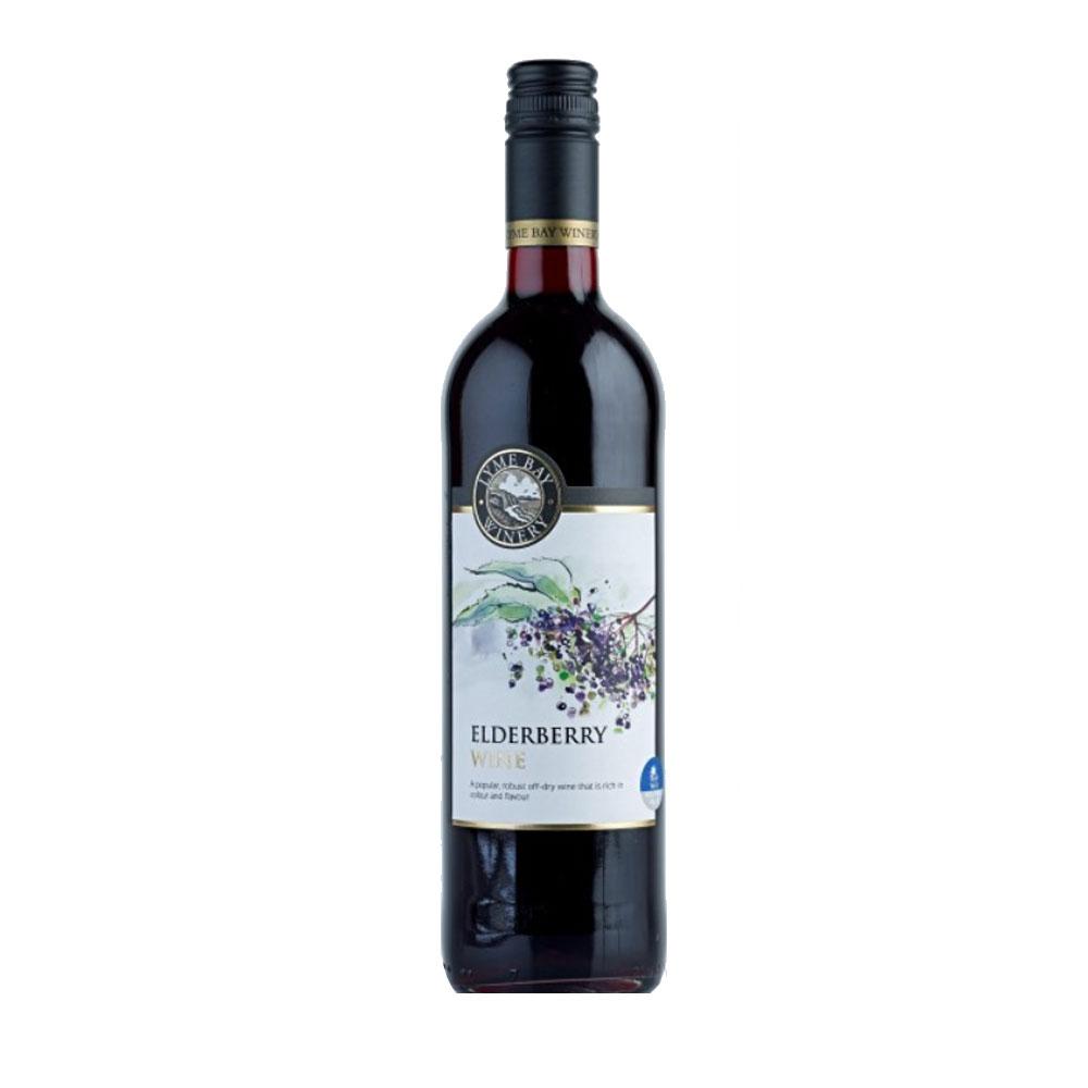 An image of Lyme Bay Elderberry Wine