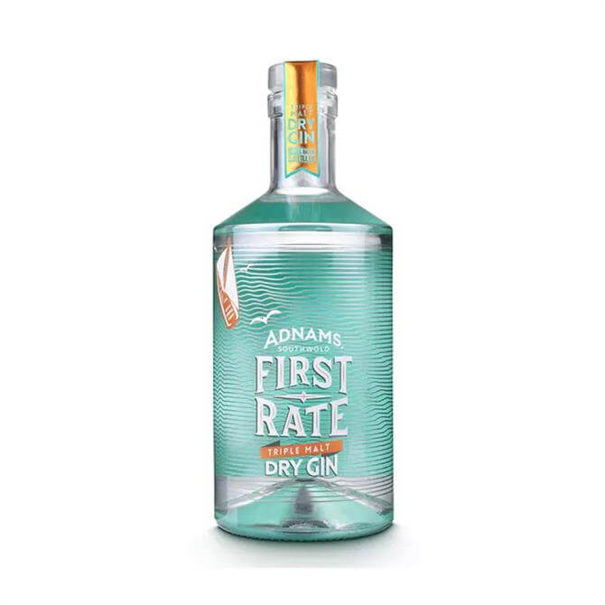 Adnams First Rate Triple Malt Dry Gin 70cl