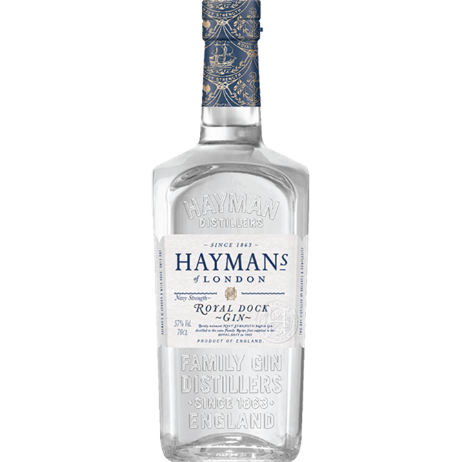 Hayman's Royal Dock Gin: 70cl