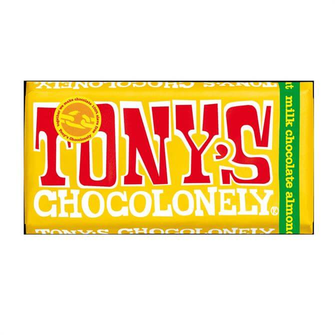 Tony's Milk Almond Honey Nougat 180g