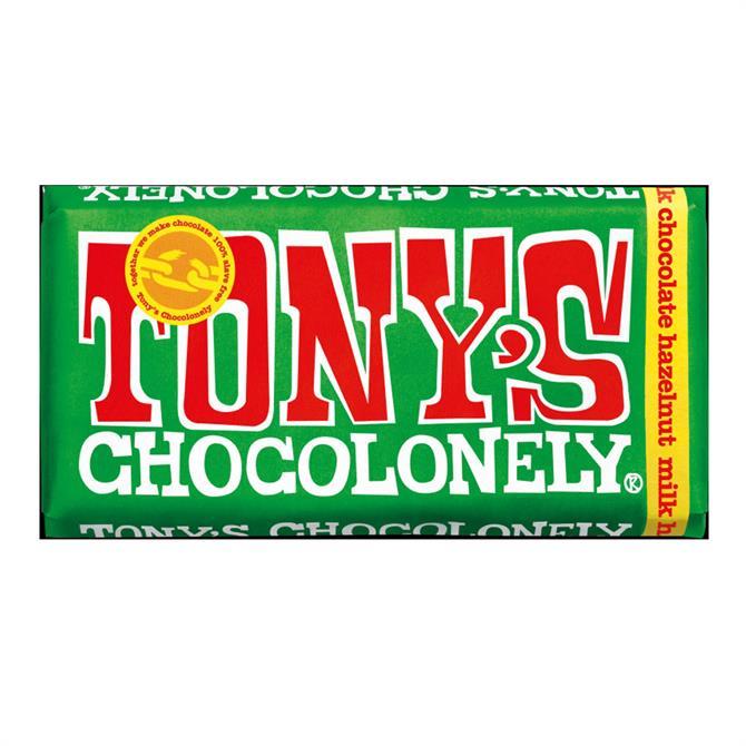 Tony's Milk Chocolate Hazlenut 32% 180g