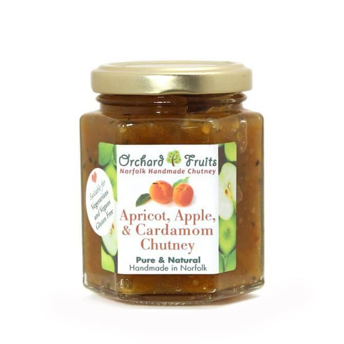 Orchard Fruits Apple, Apricot & Cardamon Chutney - Gluten Free