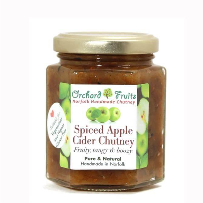 Orchard Fruits Spiced Apple Cider Chutney - Gluten Free