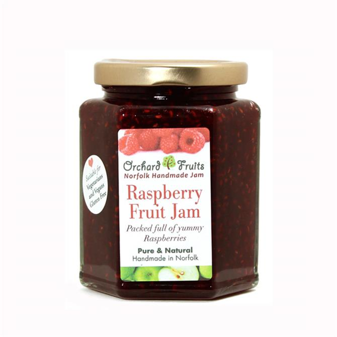 Orchard Fruits Raspberry Fruits Jam - Gluten Free