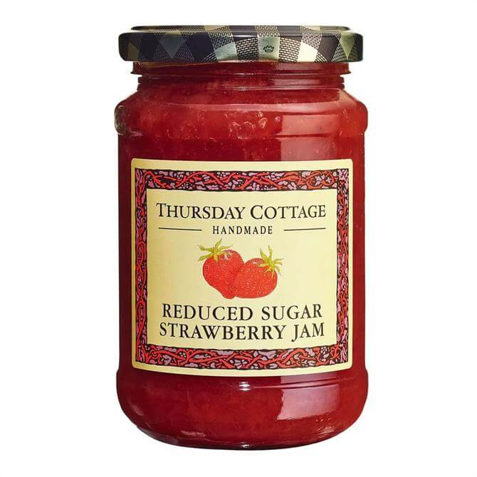 Thursday Cottage Strawberry Jam: Reduced Sugar