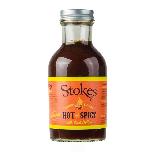 Stokes Hot & Spicy Barbecue Sauce 315g